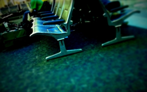 airport, airport chairs