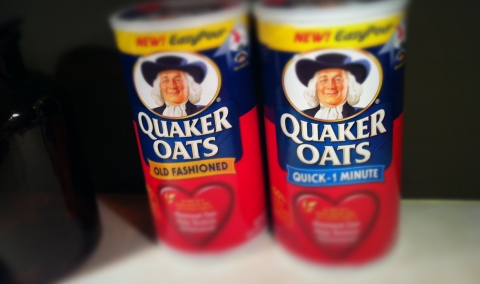 Quaker Oats, Old Fashioned and Quick-1 Minute