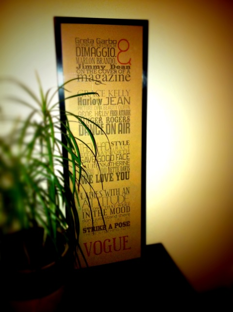 Madonna's Vogue, Lyrics