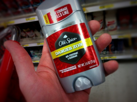 old spice danger zone deoderant