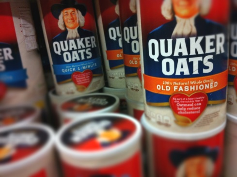 Quaker Oats Old Fashioned and 1-minute