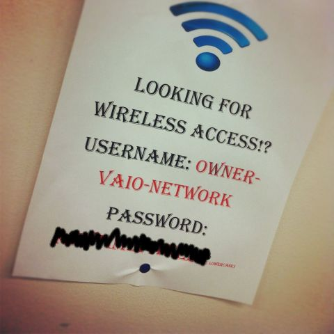 Password at the Gym, Wireless Internet
