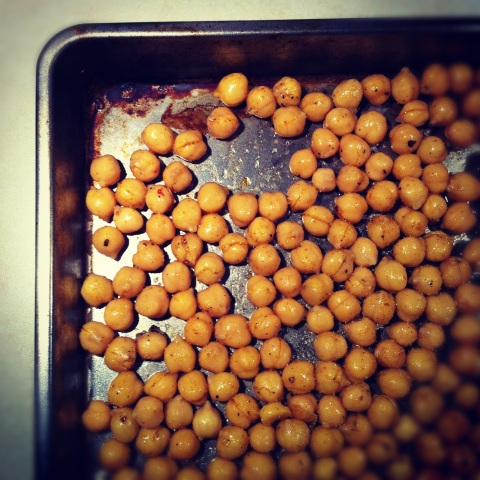 Garbanzo Chickpea Nut Recipe Baking Sheet