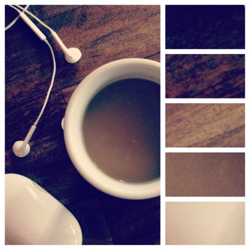 Coffee Browns Color Palette Swatch