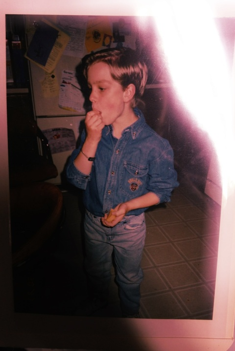 Throwback Thursday, denim on denim