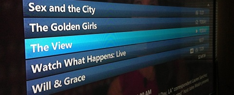 DVR List of Shows