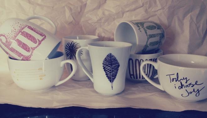 diy sharpie mugs, step 7 final