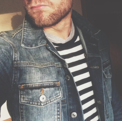 men's denim jean jacket, instagram, men's style