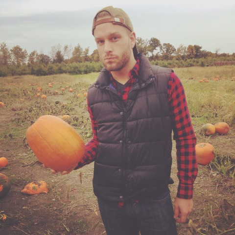 Fall, pumpkin patch, plaid