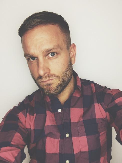 New haircut for spring! Men's beard & fade.