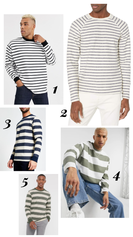 5 ways to wear stripes this fall